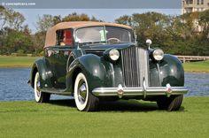 1938 Packard Twelve Model 1607 Convertible