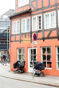 In Scandinavia moms can enjoy lunch while babies nap outside.   (low crime rate)