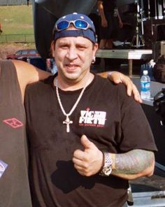 RIP This Aug. 21, 2005 photo shows Twisted Sister drummer A.J. Pero before a concert in Little Falls, N.J.
