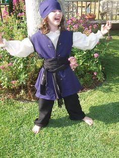 kids Renaissance costume buccaneer Pirate by RebeccasRenaissance7, $65.00