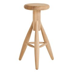 Eero Aarnio is not very known for its wood products, but the Rocket stool shows that Aarnio is skilled also in this field. Rocket is a bar stool whose sturdy puffy shape seems inviting to seat down.