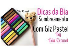 Amores neste vídeo dou dicas de como eu sombreio com giz pastel Produtos da loja Virtual Atelie Bia Cravol www.ateliebiacravol.loja2.com.br WhatsApp da loja ...