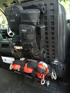 Grey Man Tactical Rigid MOLLE Panel Vehicle Every Day Carry JEEP 4x4 Offroad Trucks Outdoor Gear www.greyman-tactical.com