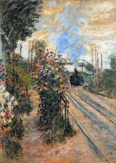 L'Arrivée à Montgeron (C Monet - W 421),1876.