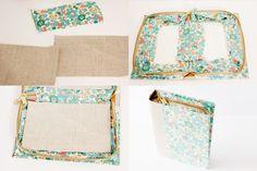 see kate sew: DIY book clutch Book Clutch, Book Purse, Diy Clutch, Clutch Purse, Sewing Tutorials, Sewing Crafts, Sewing Projects, Clutch Tutorial, Practical Gifts