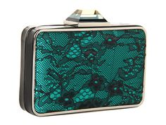 Franchi handbags - Dulce emerald clutch bag