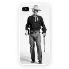 The Man Who Shot Liberty Valance - Duke iPhone 4 4s and iPhone 5 Cases
