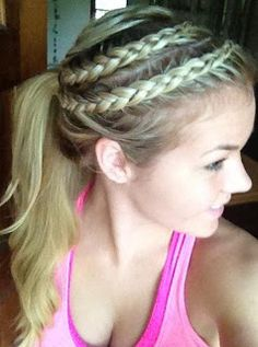 ponytail styles hair 1000 images about cornrow braids on 7987