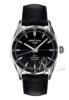 C006.407.16.051.00 Certina DS 1 Automatic Sort/Lær Ø39 mm