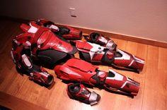 EVA Templates - Impact Props- HALO armor templates