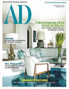 a87f816341 Architectural Digest, le magazine des plus belles maisons du monde. Chaque  mois, initiez