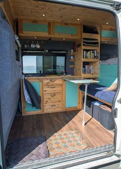 Attractive Diy Camper Van Remodel Ideas For Inspirations Van Conversion Interior, Camper Van Conversion Diy, Van Interior, Diy Van Camper, Self Build Campervan, Campervan Hire, Kangoo Camper, Sprinter Camper, Diy Van Conversions