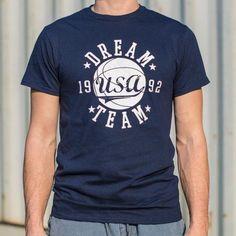 ef945e54e4d6 Classic USA Dream Team  92 T-Shirt Dream Team