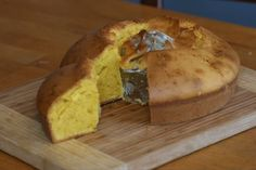 Red Palm Oil Cake (Pissota con l'Oio) -- This dense cake is a version of an olive oil cake from the Valpolicella region