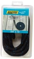 Green with Black Tracer Double Braided 100% Mfp #Dock Line-50-42441