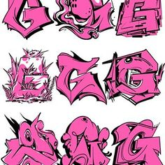 Breakdance © Favorite one? Graffiti Letter G, Graffiti Alphabet Fonts, Graffiti Text, Graffiti Words, Graffiti Pictures, Graffiti Lettering Fonts, Graffiti Tagging, Hand Lettering Alphabet, Graffiti Drawing