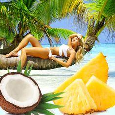 Hawaiian Suntan Fragrance Oil | Natures Garden Fragrance Oils #suntanscent #beachfragrance #hawaiianscent