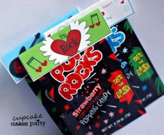 Fun idea for Valentine's treats for classmates. I found this on Etsy and if you have the time dig through. They have s...