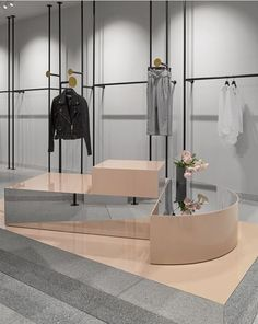 Sheike by Fiona Lynch; photography by Dan Hocking Retail Interior Design, Retail Store Design, Retail Shop, Commercial Design, Commercial Interiors, Store Concept, Vitrine Design, Fashion Showroom, Decoration Vitrine