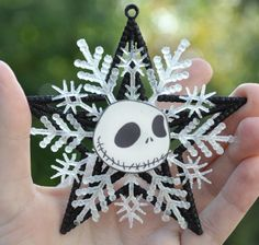 Jack Skellington Christmas Ornament Nightmare by TheCheekyCupcake