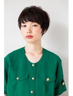 【GARDEN】加藤静華 黒髪×ナチュラルショート☆