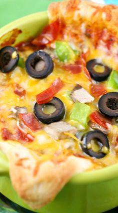 Pizza Bowls Recipe