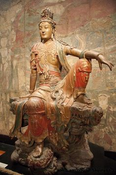 Shantideva, who taught the Bodhisattva path to Enlightenment.