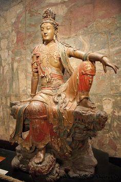 Shantideva, who taught the Bodhisattva path to Enlightenment.