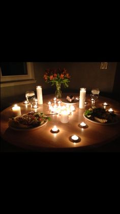 What is the meaning of candle light dinner