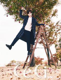 Roy Kim Ceci Magazine December 2015 photos