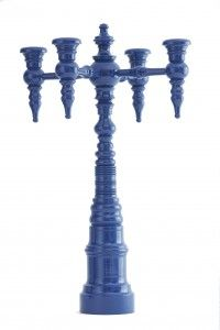 Four-arm Candelabra in Commodore of the Yacht Club Blue