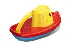 Greentoys sleepboot geel