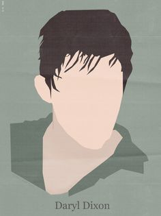 Daryl Dixon - The Walking Dead minimalist poster