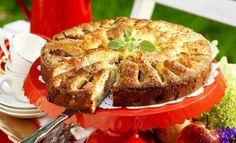 Mjuk äppelkaka med citron och kardemumma recept Fika, Apple Pie, Quiche, Breakfast, Sweet, Desserts, David, Christian, Lemon