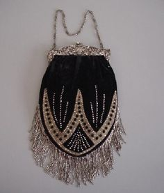 So pretty, love small beaded bags. This is Victorian