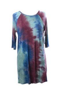 Dark Tie Dye Dress #