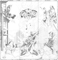Over the history of the X-Men, there have been a number of comic book covers rejected for one reason or another. Here are 15 unpublished X-Men covers! Comic Book Artists, Comic Artist, Comic Books, Drawing Superheroes, Marvel Drawings, John Romita Jr, Days Of Future Past, American Comics, Comic Book Covers