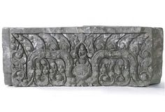 Lintel with Yama, deity of the underworld  Place of Origin:Northeastern Thailand, Nong Hong Temple, Buriram province  Date:approx. 1000-1080  Materials:Sandstone  Dimensions:H. 21 3/4 in x W. 59 1/2 in x D. 14 in, H. 55.2 cm x W. 151.1 cm x D. 35.6 cm