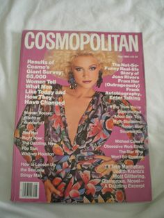 May 1986 cover with Christine Bolster