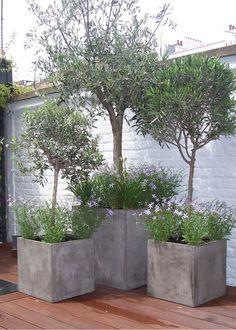 20cm 30cm and 40cm square garden planters