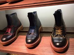 Barkers Monkeys on show at Pitti Uomo #barker #England #Boots