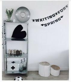 #Wordbanner #tip: Waiting for #spring - Buy it at www.vanmariel.nl - € 11,95