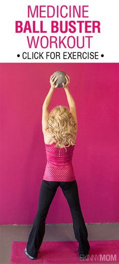 great workout with a medicine ball that you can do at home or at the gym