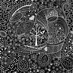 zentangle flowers | Search for stock photos, illustrations, video, audio and editorial ...