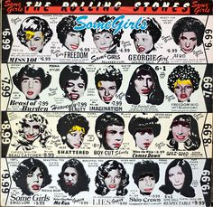 "Rolling Stones ""Some Girls"" album 1978"