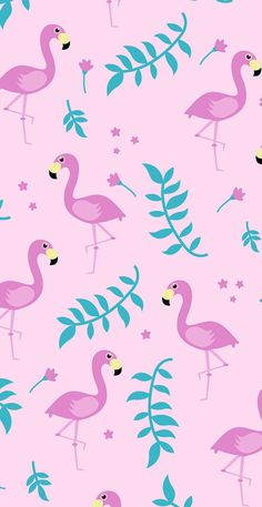 Pin de ariana taylor em wallpapers em 2019 милые обои, обои для iphone e об Flamingo Wallpaper, Summer Wallpaper, Cute Wallpaper Backgrounds, Wallpaper Iphone Cute, Pink Wallpaper, Colorful Wallpaper, Pattern Wallpaper, Cute Wallpapers, Wallpaper Samsung