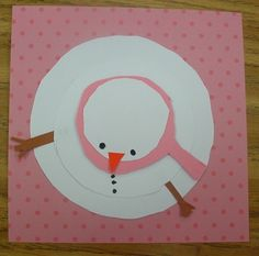 "A writing activity from a different perspective, ""My snowman melted because..."""