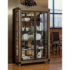 You'll love the MetalWorks Solid Hardwood Corner Bunching Display Cabinet at Wayfair - Great Deals on all Furniture products with Free Shipping on most stuff, even the big stuff.