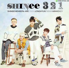 3 2 1 SHINee !! #SHINee #Taemin #Key #Jonghyun #Minho #Onew