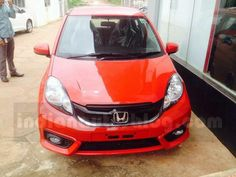 Honda Brio facelift has been spied at the Indian dealership ahead of its launch…